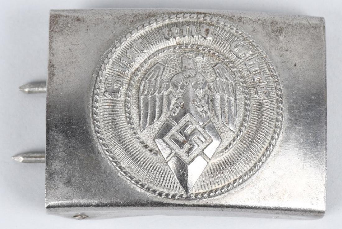 WWII NAZI GERMAN BELT BUCKLE LOT POLICE & HJ - 2