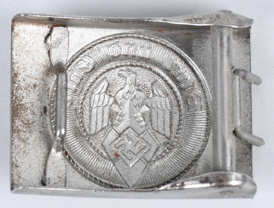 WWII NAZI GERMAN BELT BUCKLE LOT POLICE & HJ - 3