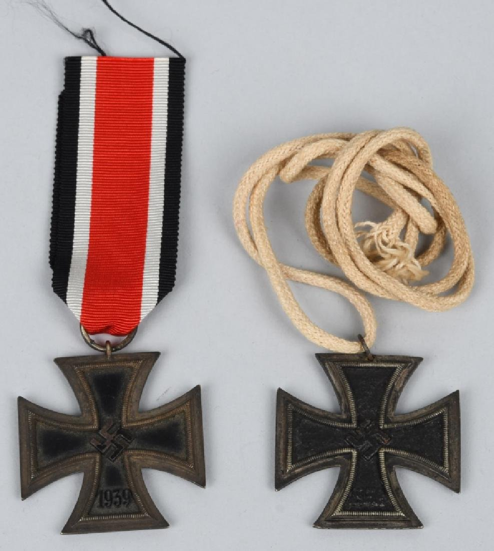 WWII NAZI GERMAN 2ND CLASS IRON CROSS LOT