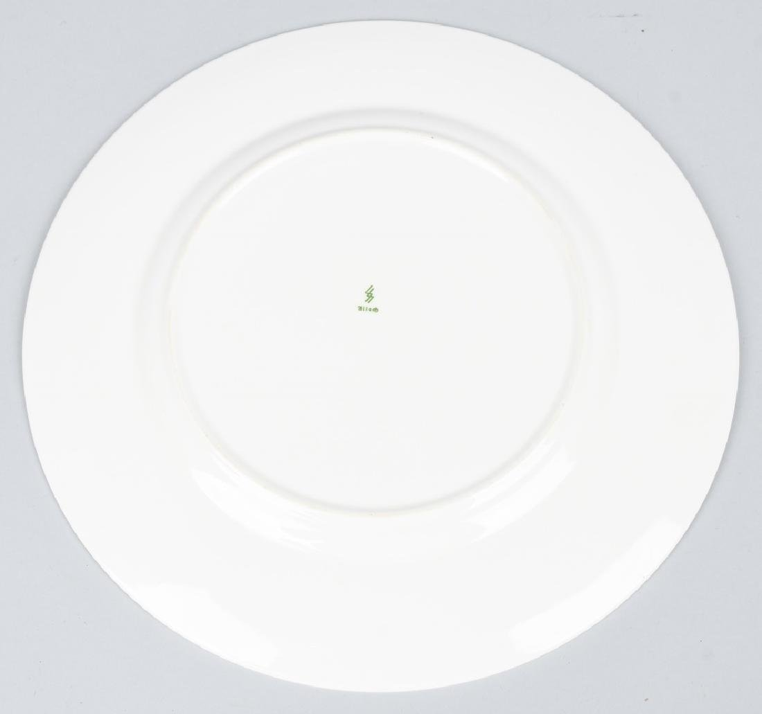 WWII NAZI ADOLPH HITLER DINNER PLATE BY SS ALLACH - 3