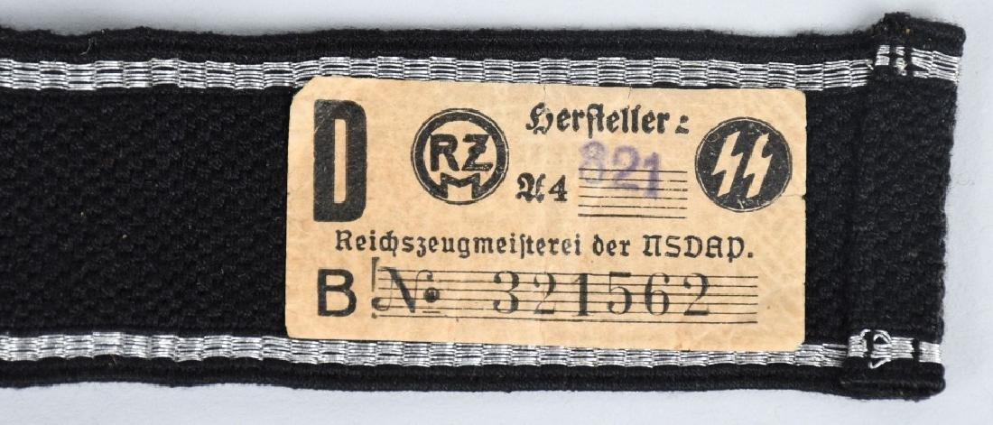 WWII NAZI GERMAN WAFFEN SS OSTLAND CUFF TITLE - 4
