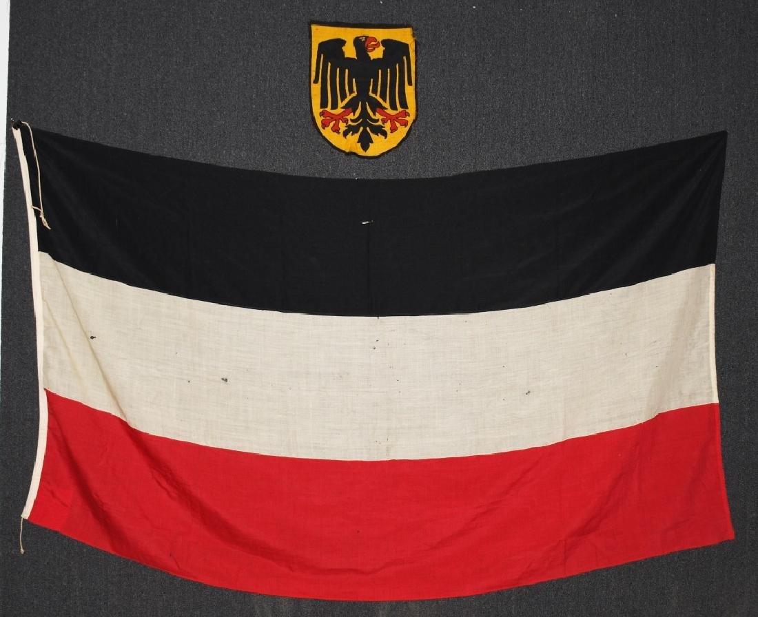 WWII GERMAN NSDAP FLAG - LARGE SIZE