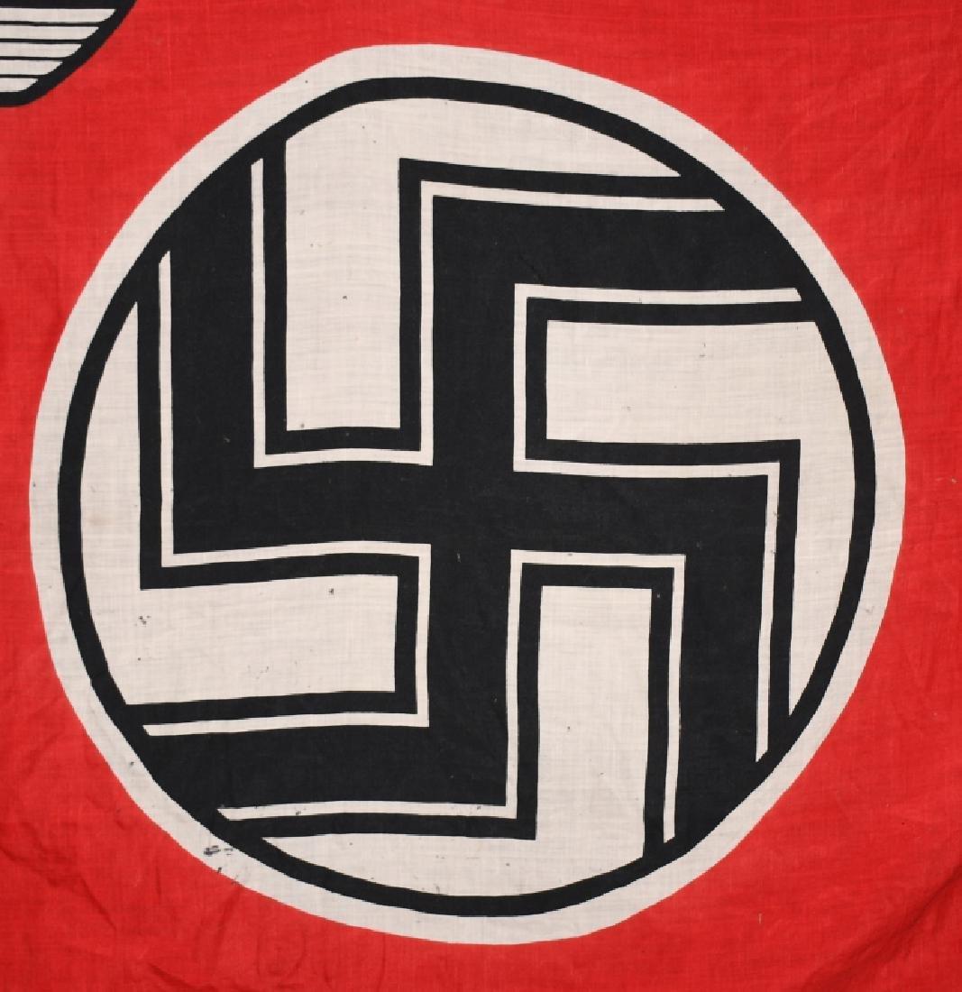 WWII NAZI GERMAN STATE FLAG & ENSIGN REICHDIENSTE - 3