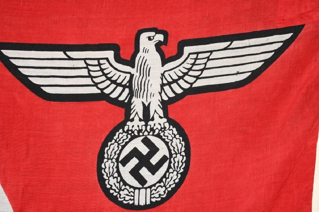 WWII NAZI GERMAN STATE FLAG & ENSIGN REICHDIENSTE - 6