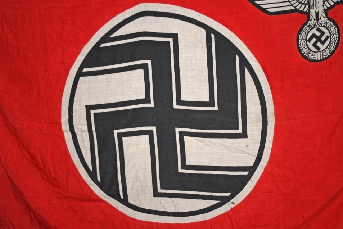 WWII NAZI GERMAN STATE FLAG & ENSIGN REICHDIENSTE - 8