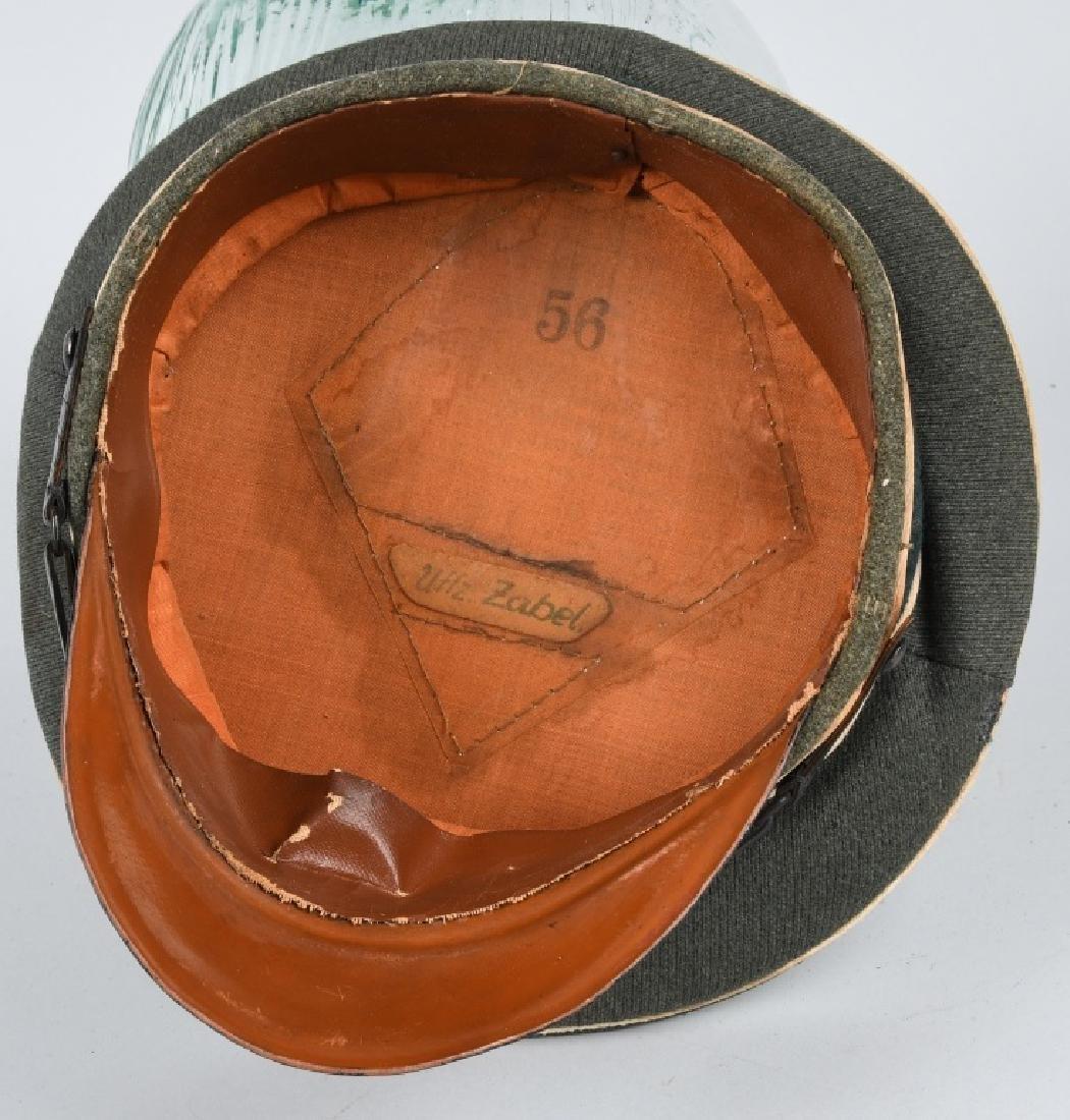 WWII NAZI GERMAN ARMY INFANTRY NCO VISOR CAP - 6