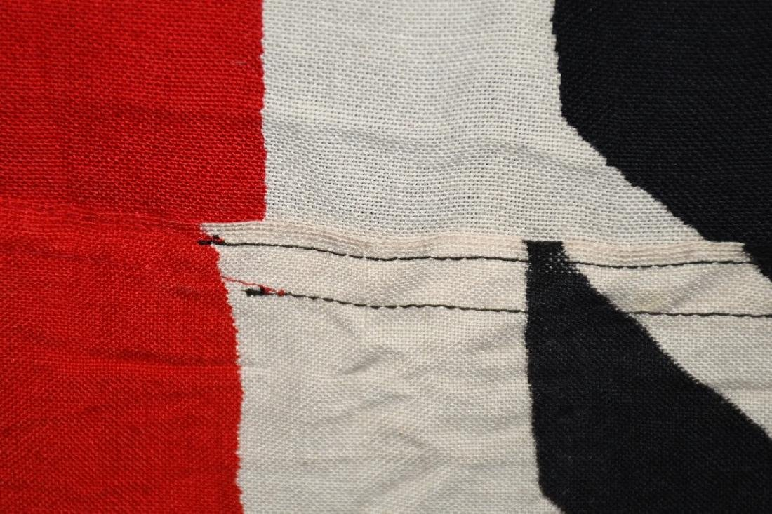 WWII NAZI GERMAN RAD FLAG - LARGE - 9