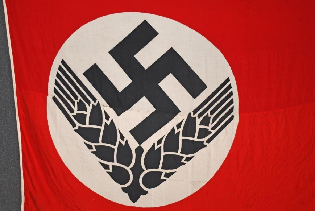 WWII NAZI GERMAN RAD FLAG - LARGE - 2