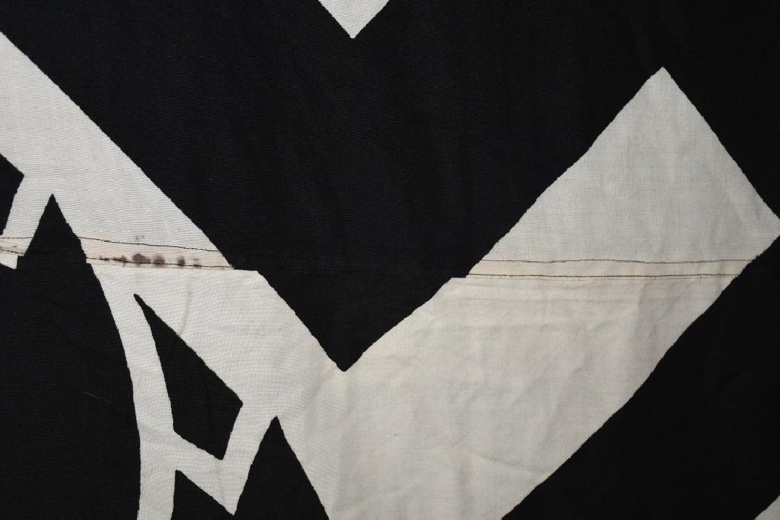 WWII NAZI GERMAN RAD FLAG - LARGE - 4