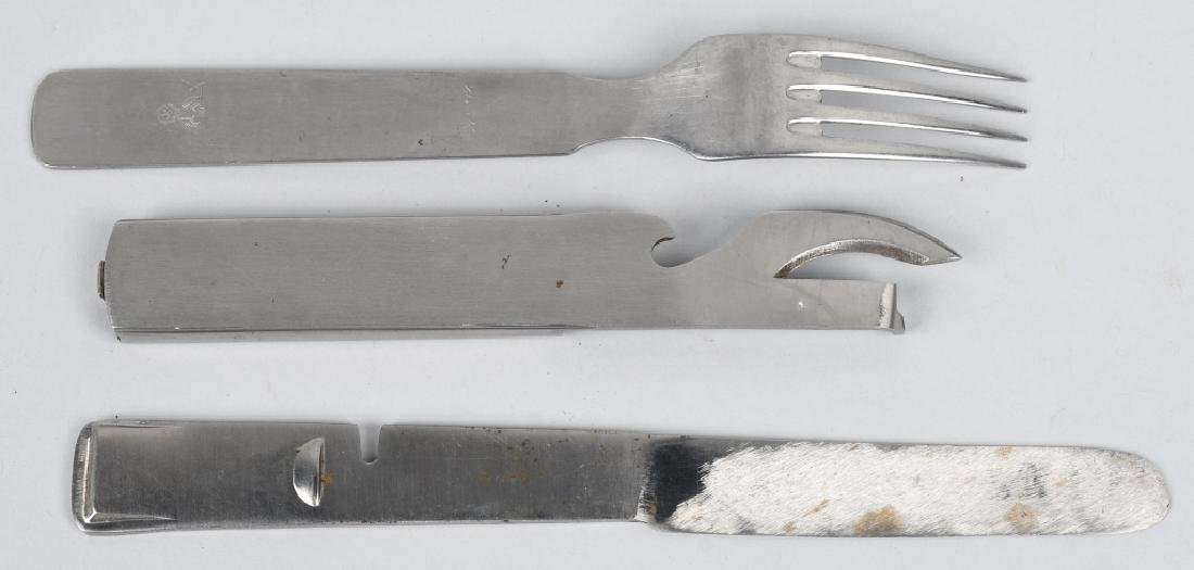 WWII NAZI GERMAN ARMY FIELD UTENSIL SET - 2
