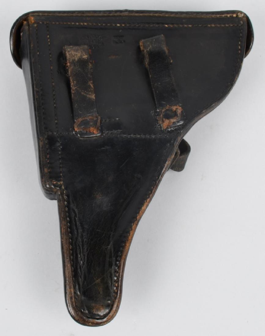 WWII NAZI GERMAN LUGER P08 HOLSTER - BOCKER 1939 - 3