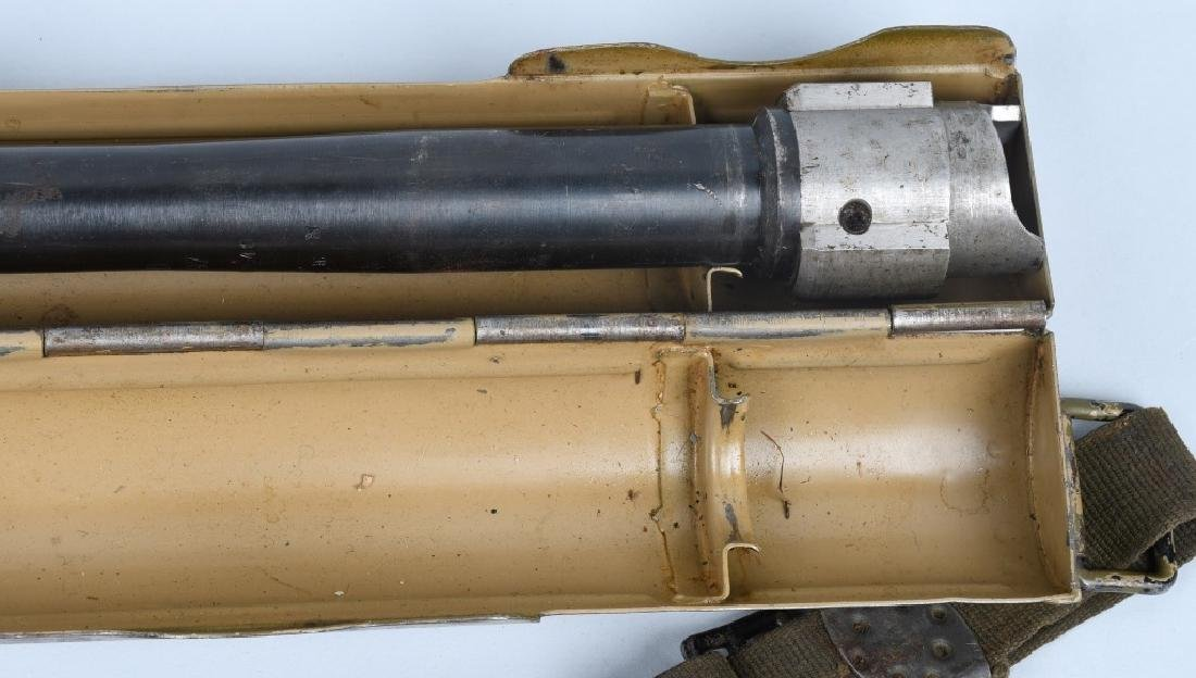 WWII NAZI GERMAN MG 34 SPARE BARREL & CARRIER - 4