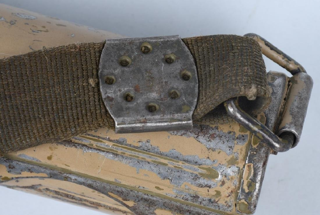 WWII NAZI GERMAN MG 34 SPARE BARREL & CARRIER - 6
