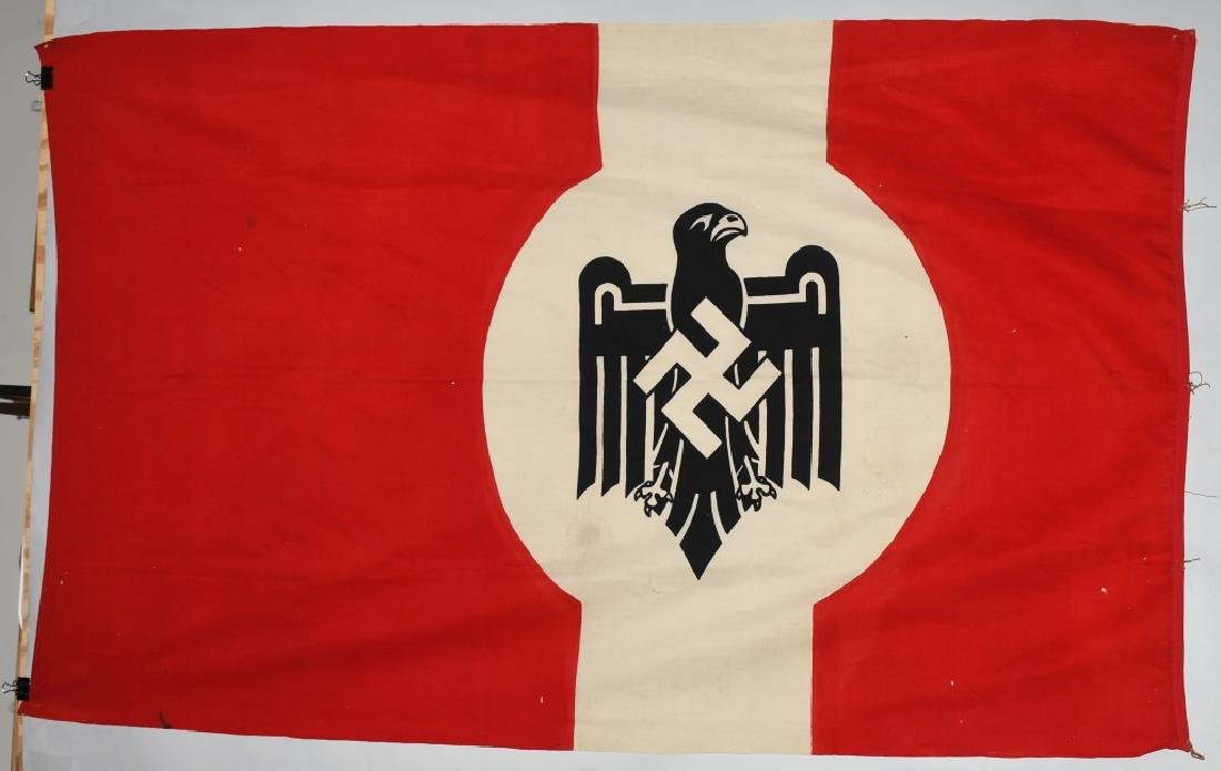 WWII NAZI STATE LEAGUE FOR PHYSICAL FITNESS FLAG