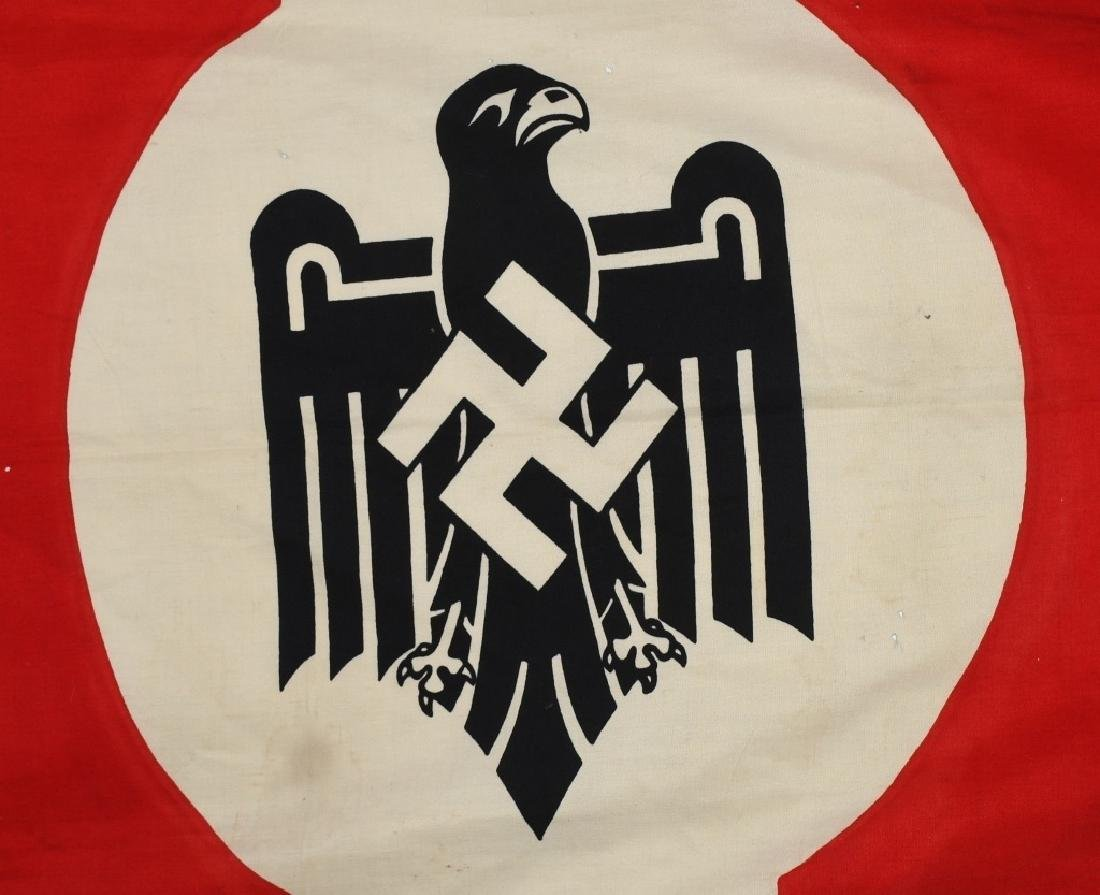 WWII NAZI STATE LEAGUE FOR PHYSICAL FITNESS FLAG - 2