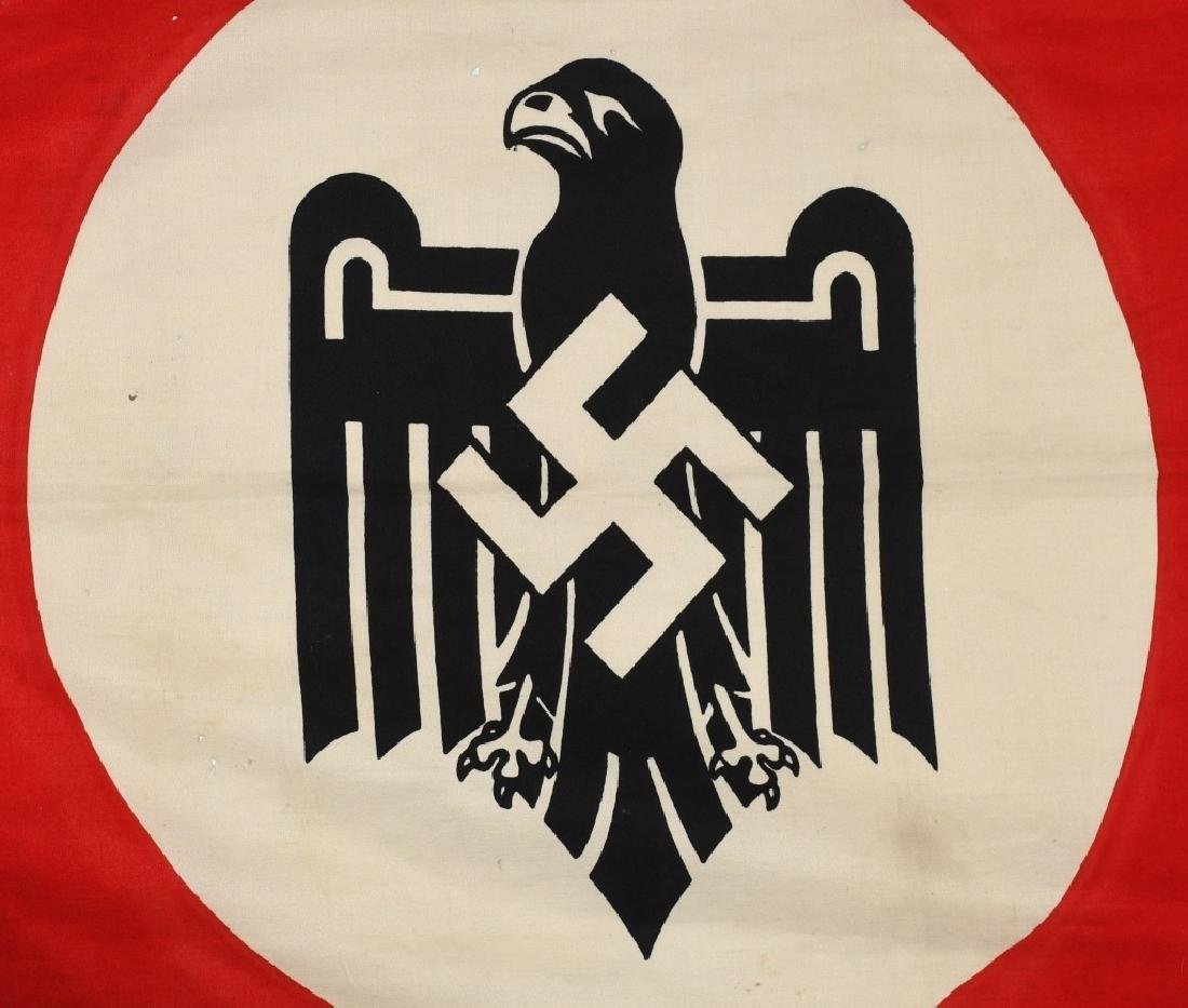 WWII NAZI STATE LEAGUE FOR PHYSICAL FITNESS FLAG - 3