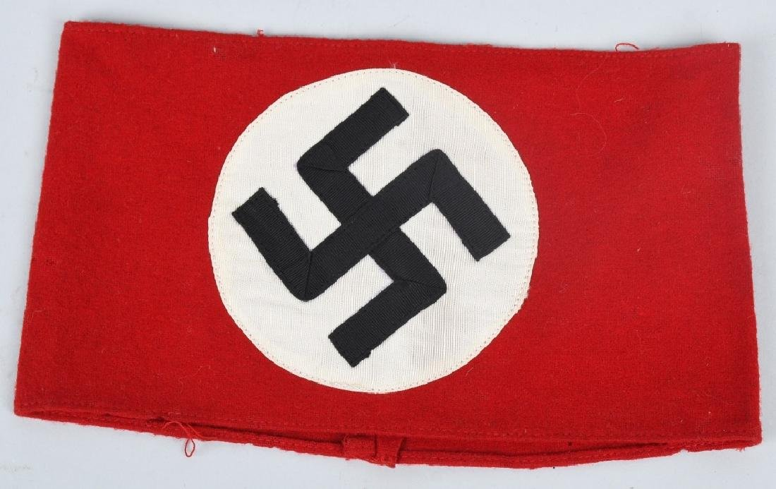 WWII NAZI GERMAN ARMBAND LOT RLB & NSDAP - 2