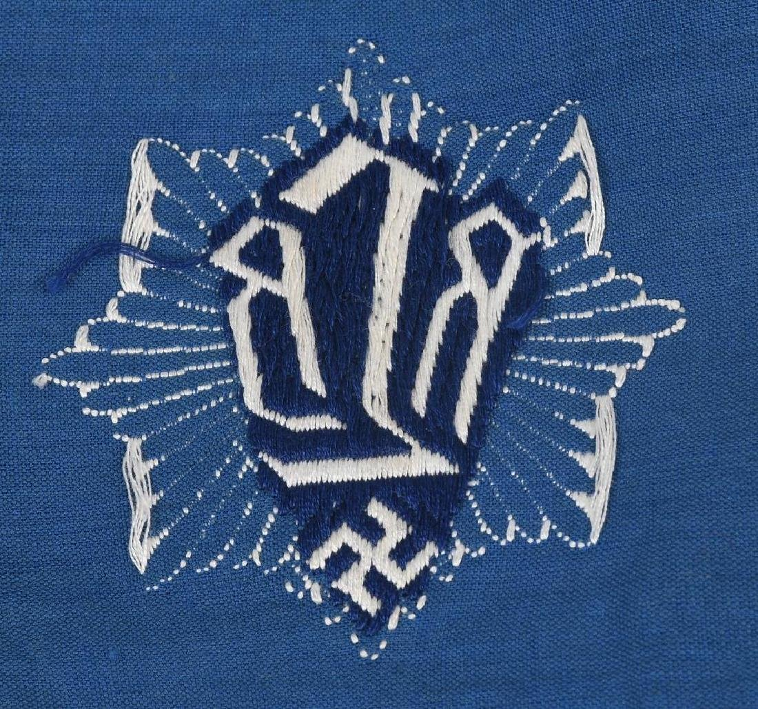 WWII NAZI GERMAN RLB OFFICER ARMBAND - 4