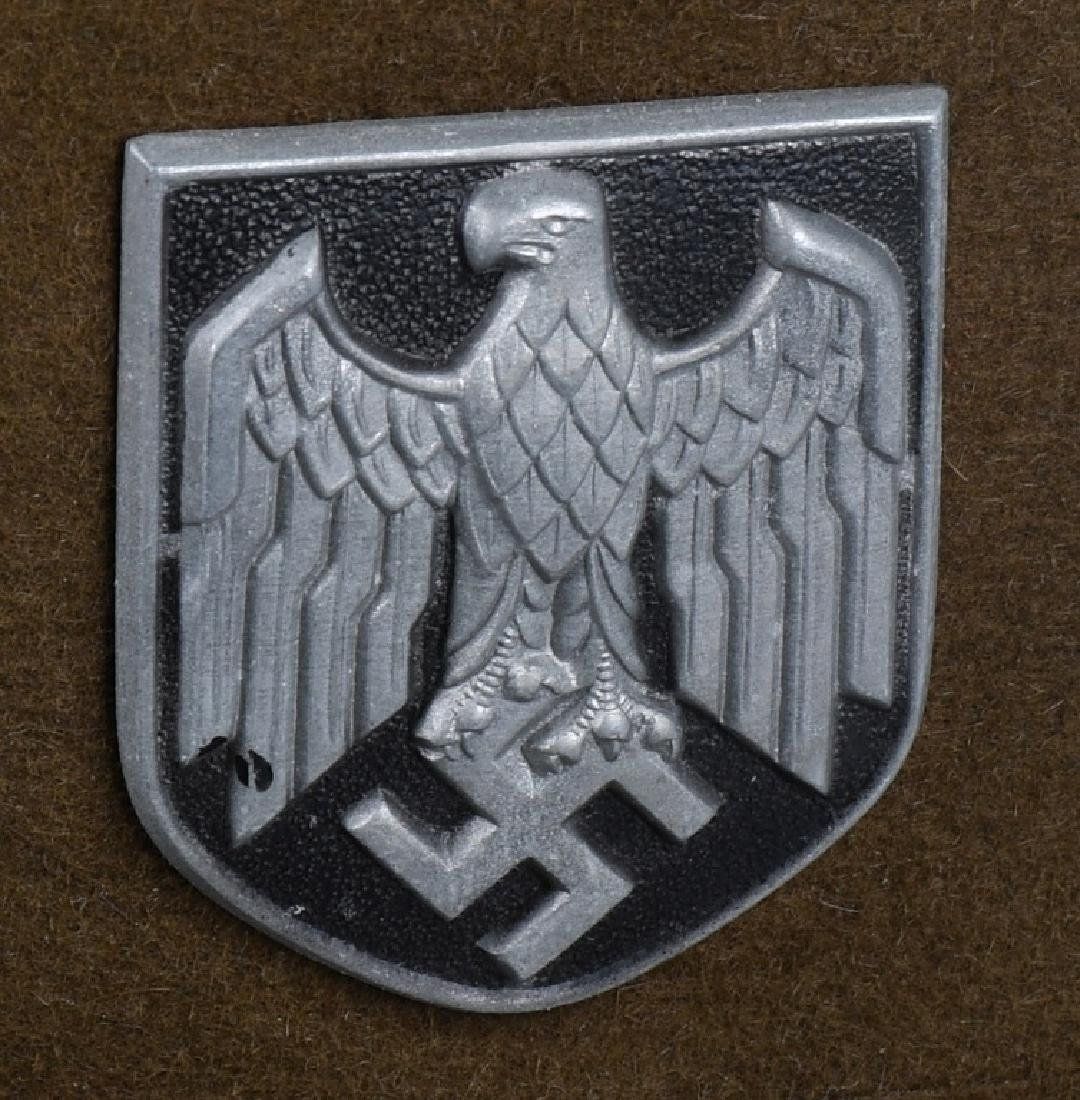 WWII NAZI GERMAN 2ND PATTERN ARMY PITH HELMET - 2