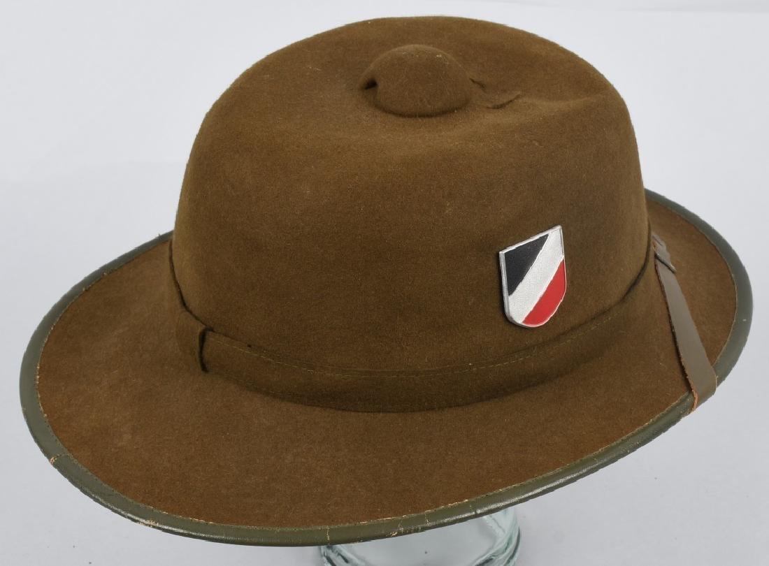 WWII NAZI GERMAN 2ND PATTERN ARMY PITH HELMET - 3