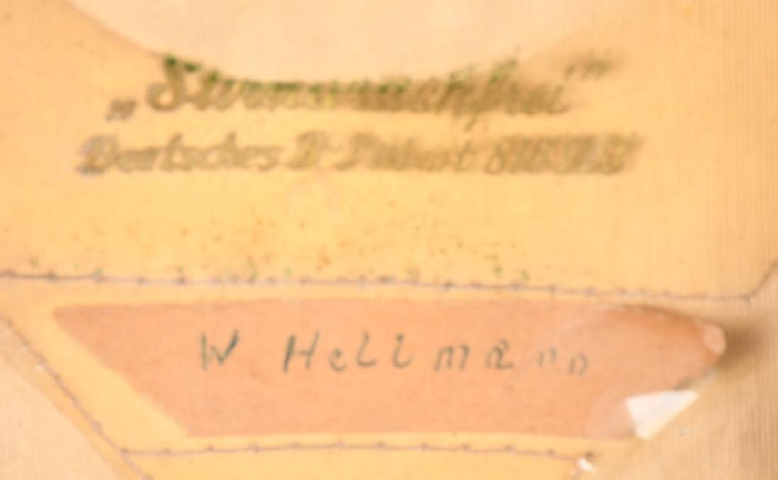WWII NAZI GERMAN FIRE POLICE FEUERWEHR VISOR HAT - 7