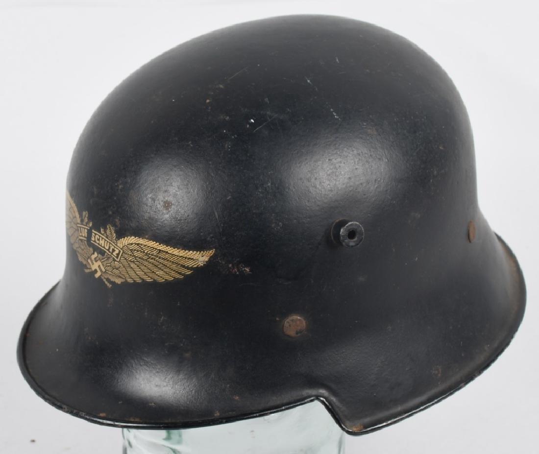 WWII NAZI GERMAN LUFTSCHUTZ RLB HELMET