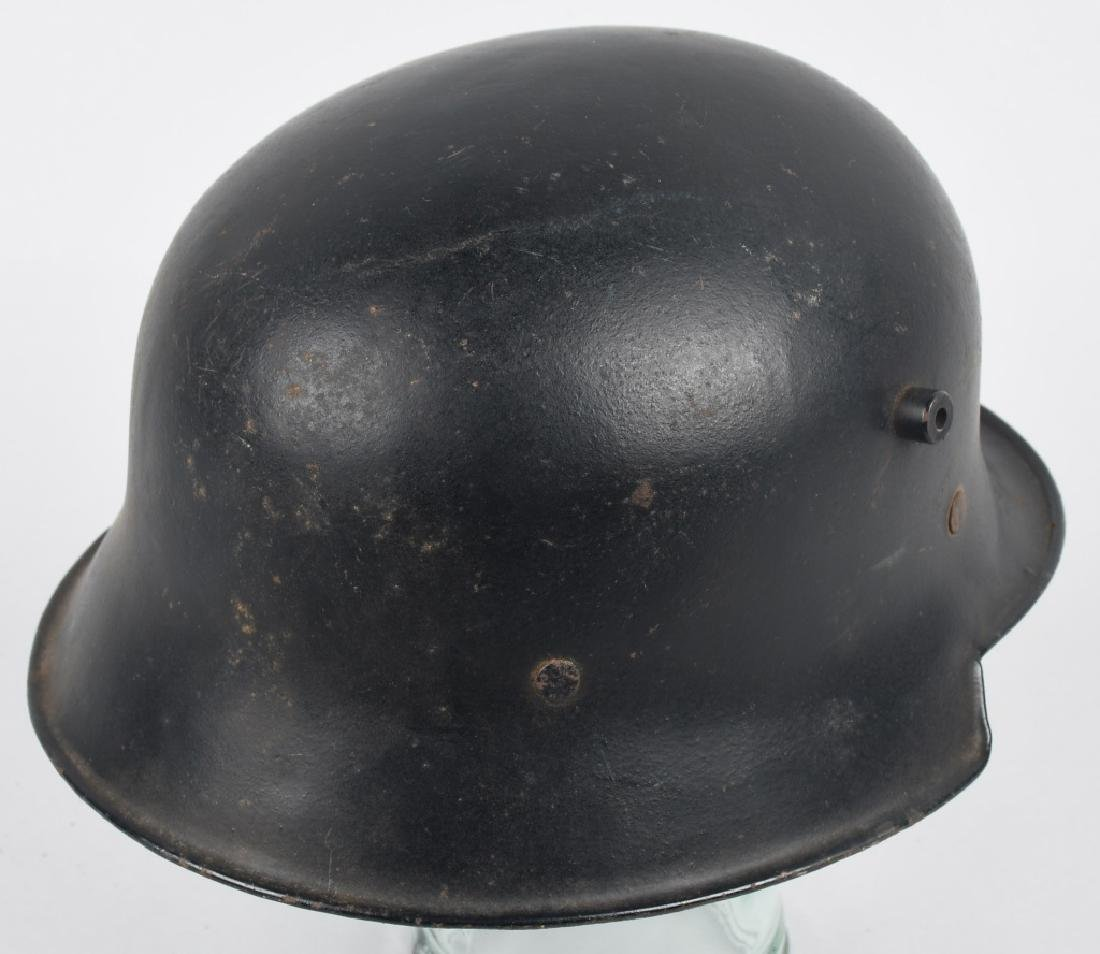 WWII NAZI GERMAN LUFTSCHUTZ RLB HELMET - 4