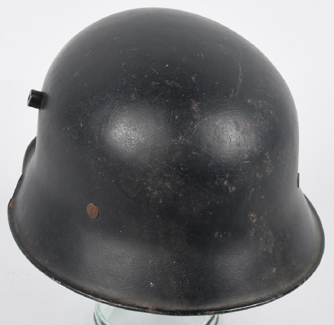 WWII NAZI GERMAN LUFTSCHUTZ RLB HELMET - 5