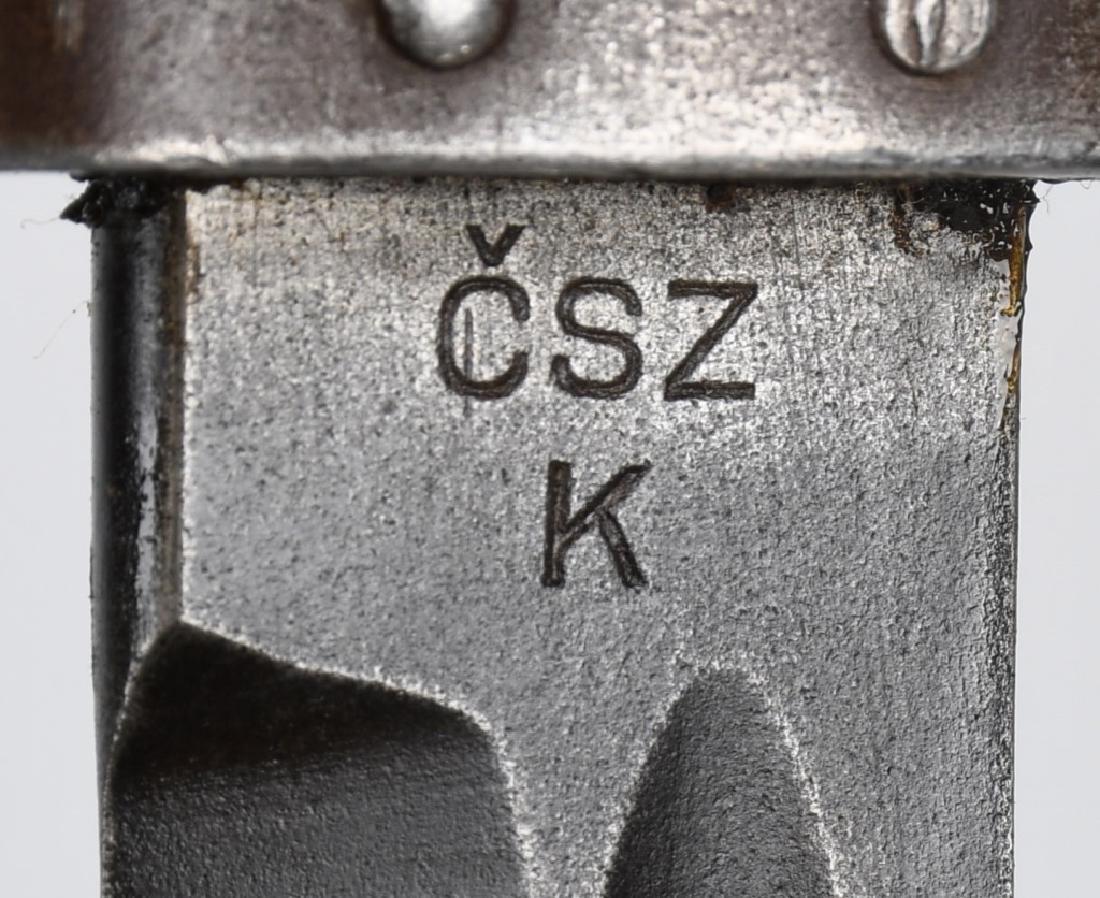 WWII K98 BAYONET LOT CZECHOSLOVAKIA & ARGENTINA - 3