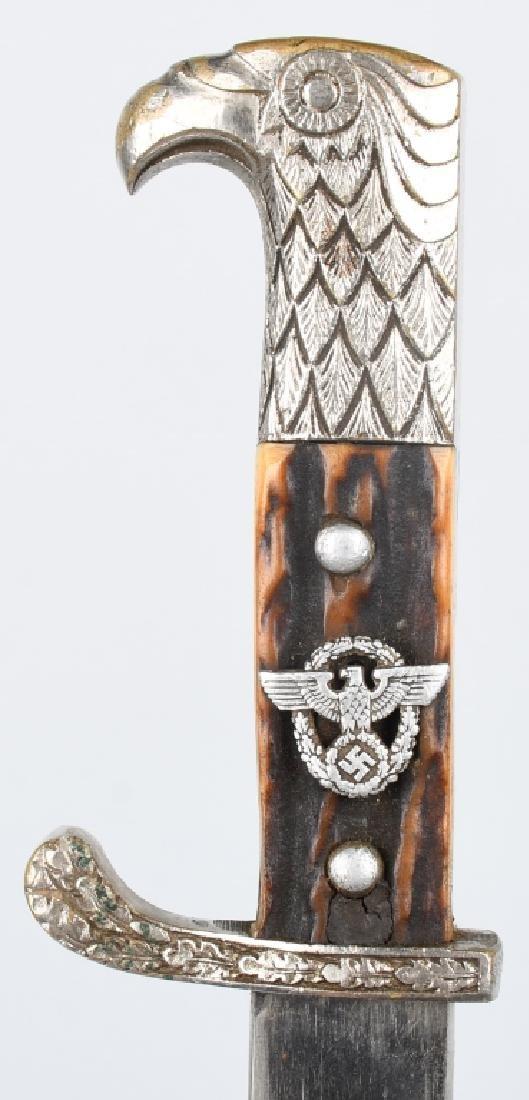 WWII NAZI GERMAN K98 POLICE BAYONET - MATCHING - 2