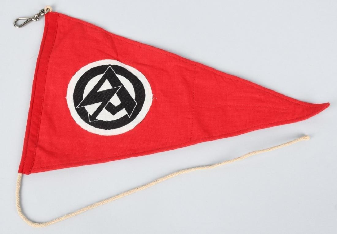 WWII NAZI GERMAN SA PENNANT