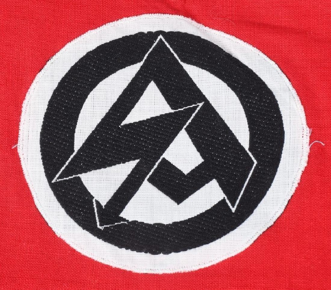 WWII NAZI GERMAN SA PENNANT - 2