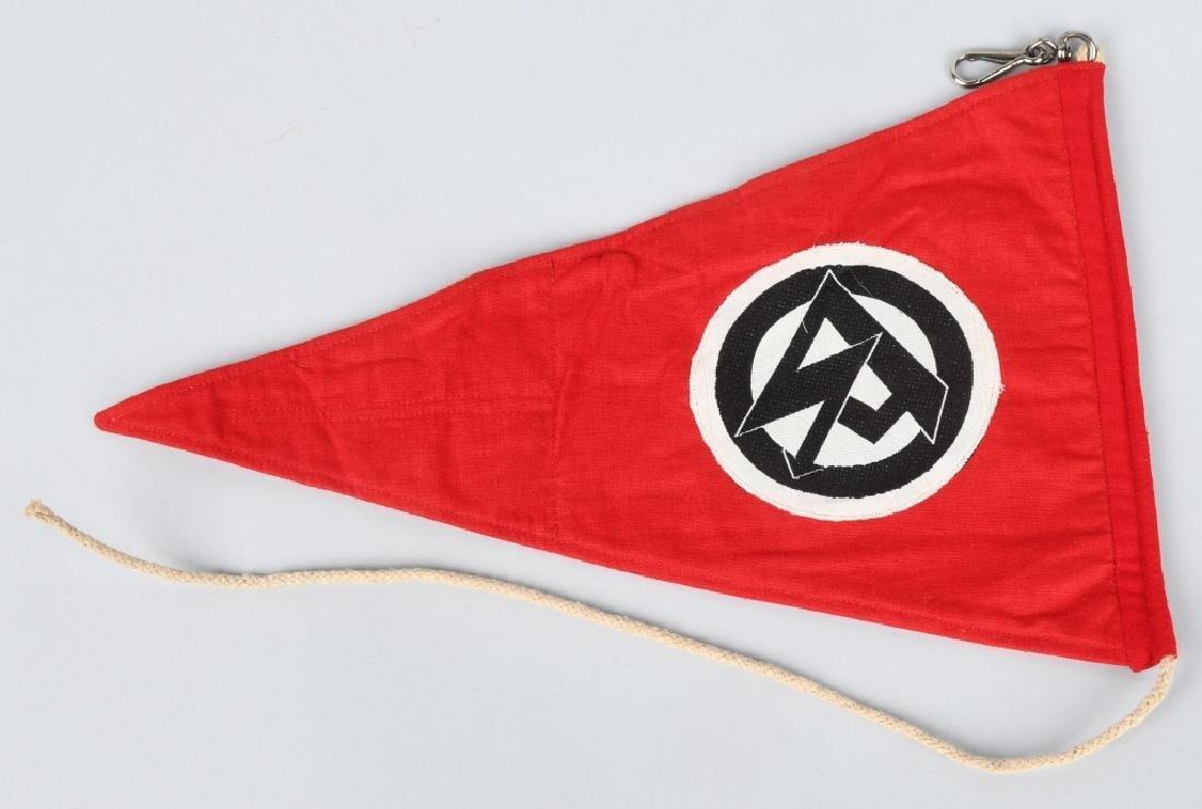WWII NAZI GERMAN SA PENNANT - 3