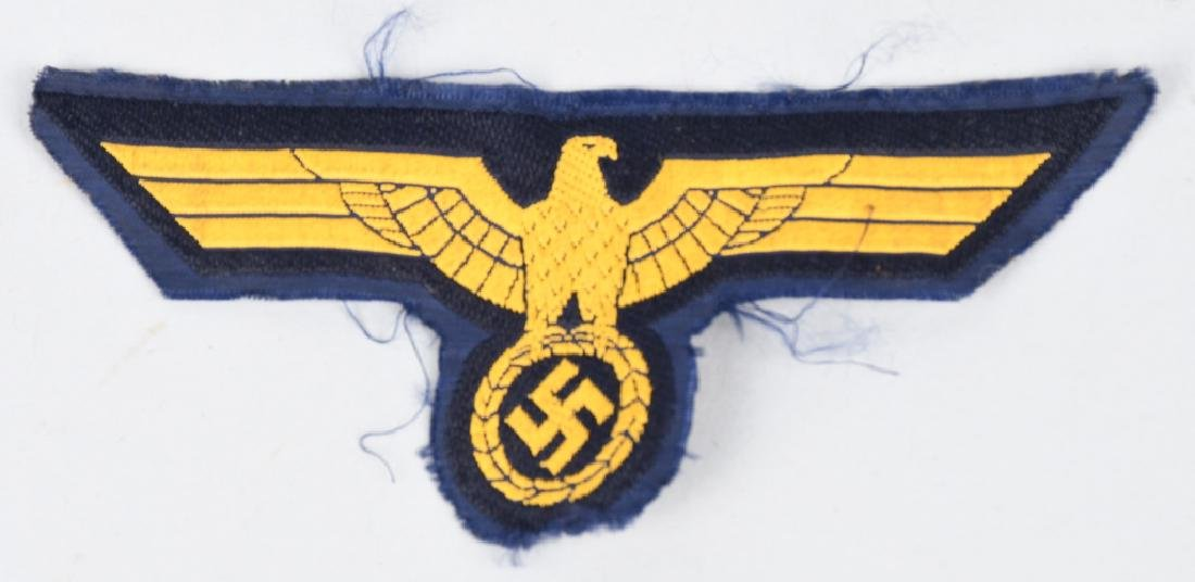 WWII NAZI GERMAN ARMBAND & INSIGNIA LOT - 6