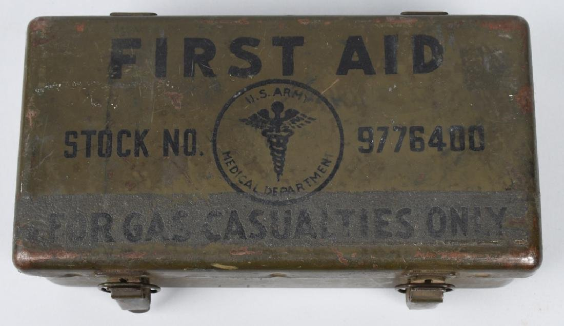 WWII US M38 WILLYS JEEP MEDICAL 1ST AID CONTAINER
