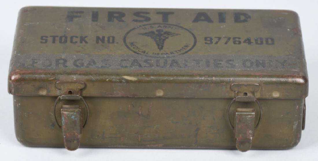 WWII US M38 WILLYS JEEP MEDICAL 1ST AID CONTAINER - 2