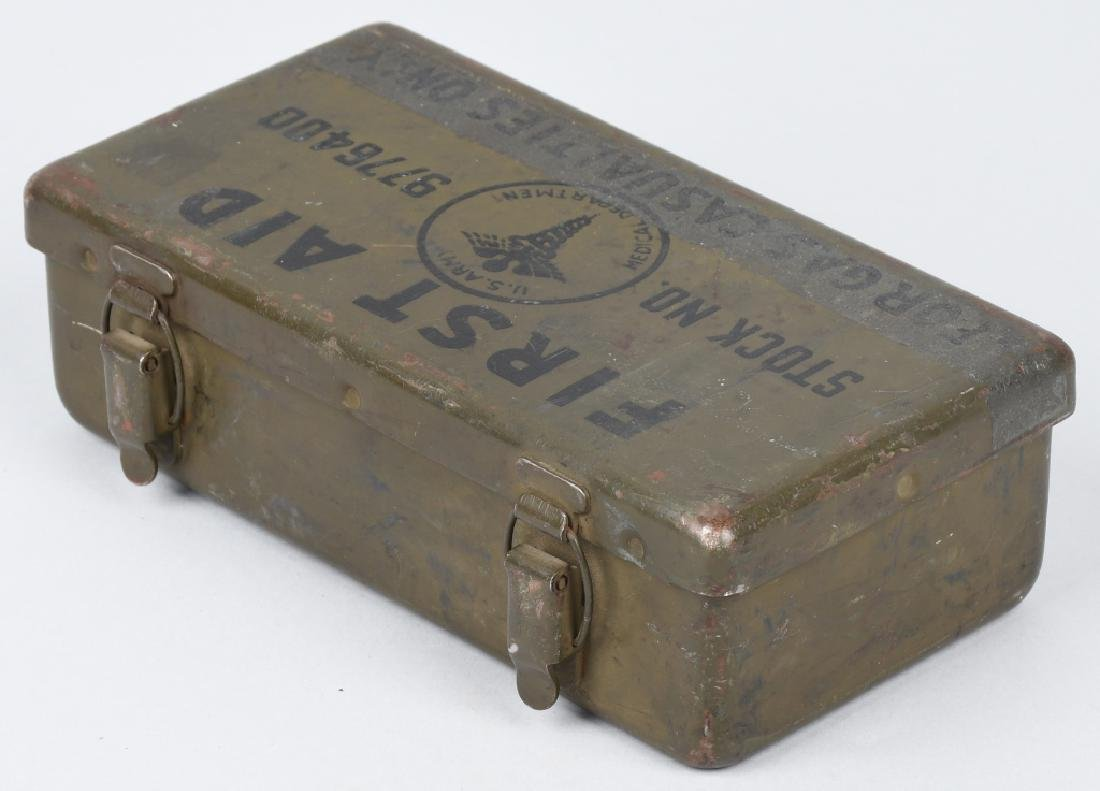 WWII US M38 WILLYS JEEP MEDICAL 1ST AID CONTAINER - 5