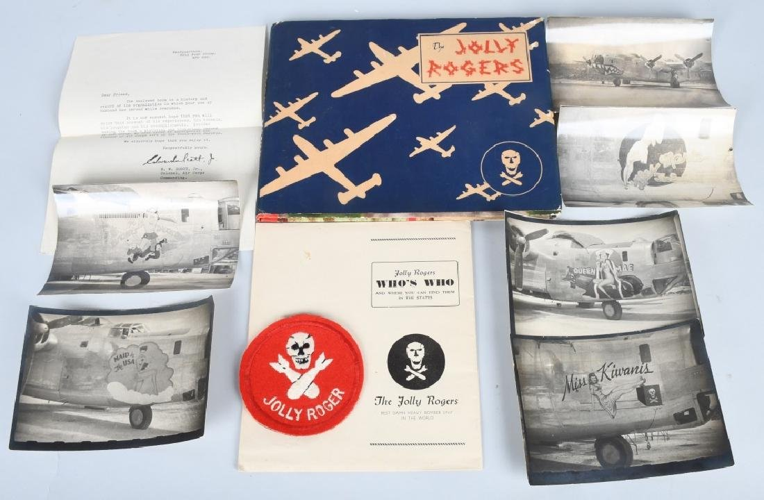 "WWII U.S. 90TH BOMB GROUP ""JOLLY ROGERS GROUPING"
