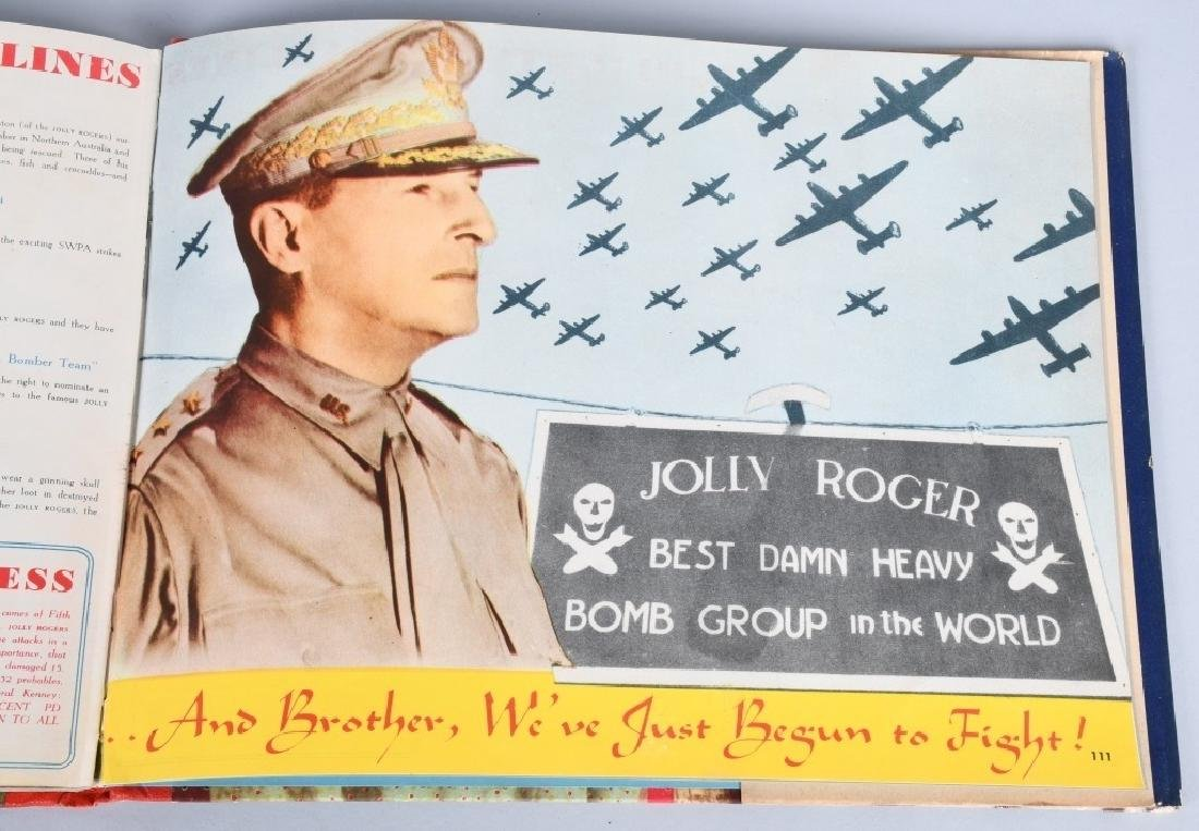"WWII U.S. 90TH BOMB GROUP ""JOLLY ROGERS GROUPING - 6"