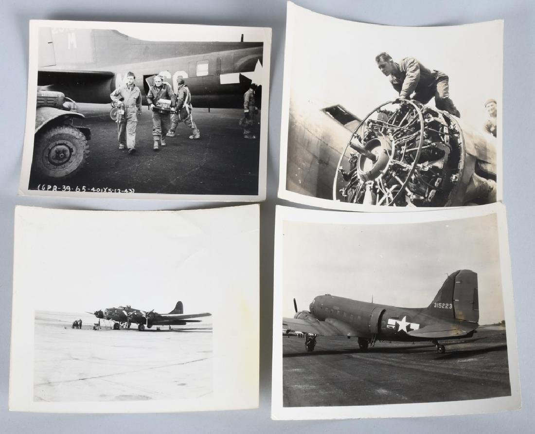 WWII US 613TH BOMB SQUADRON PATCH & PHOTO GROUP - 5