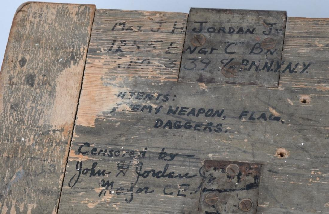 WWII U.S. GI BRING BACK SOUVENIRS SHIPPING CRATE - 2