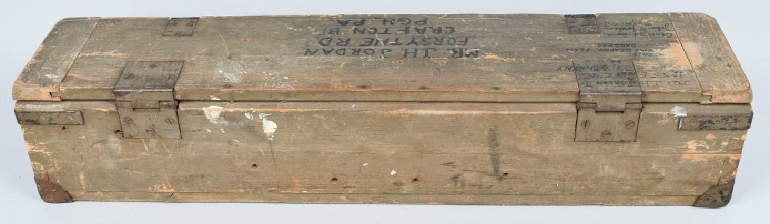WWII U.S. GI BRING BACK SOUVENIRS SHIPPING CRATE - 8