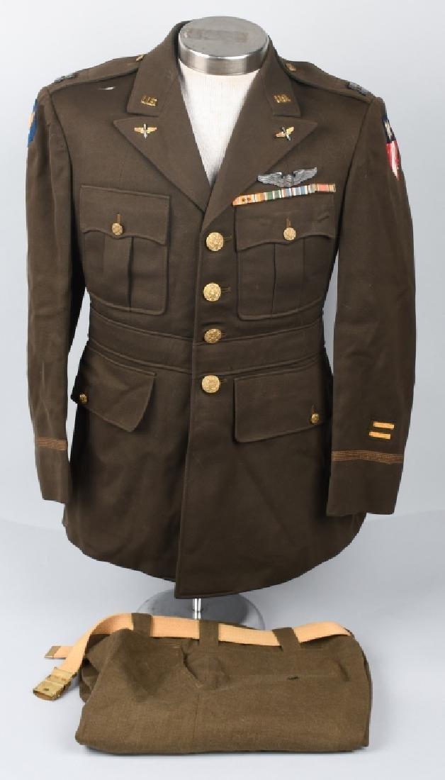 WWII U.S. ARMY CBI SERVICE PILOT UNIFORM