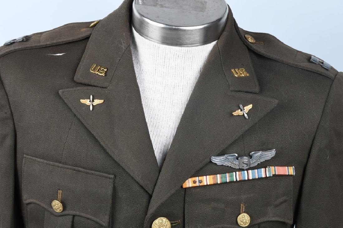 WWII U.S. ARMY CBI SERVICE PILOT UNIFORM - 2