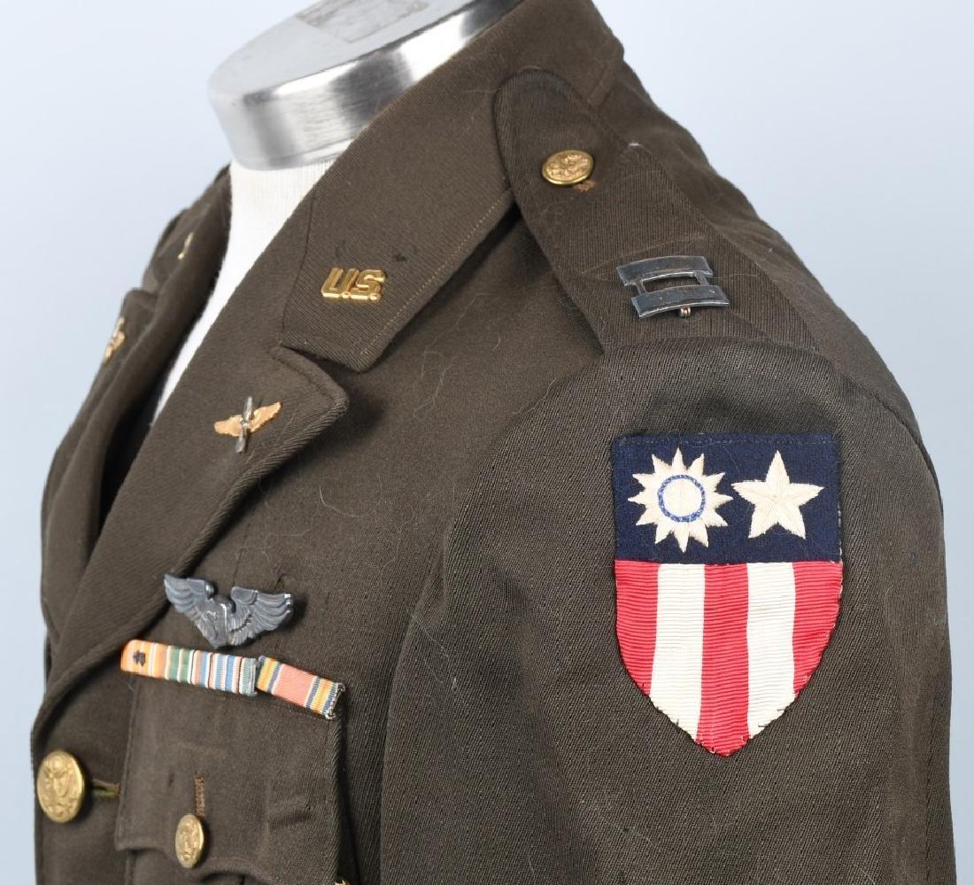 WWII U.S. ARMY CBI SERVICE PILOT UNIFORM - 4