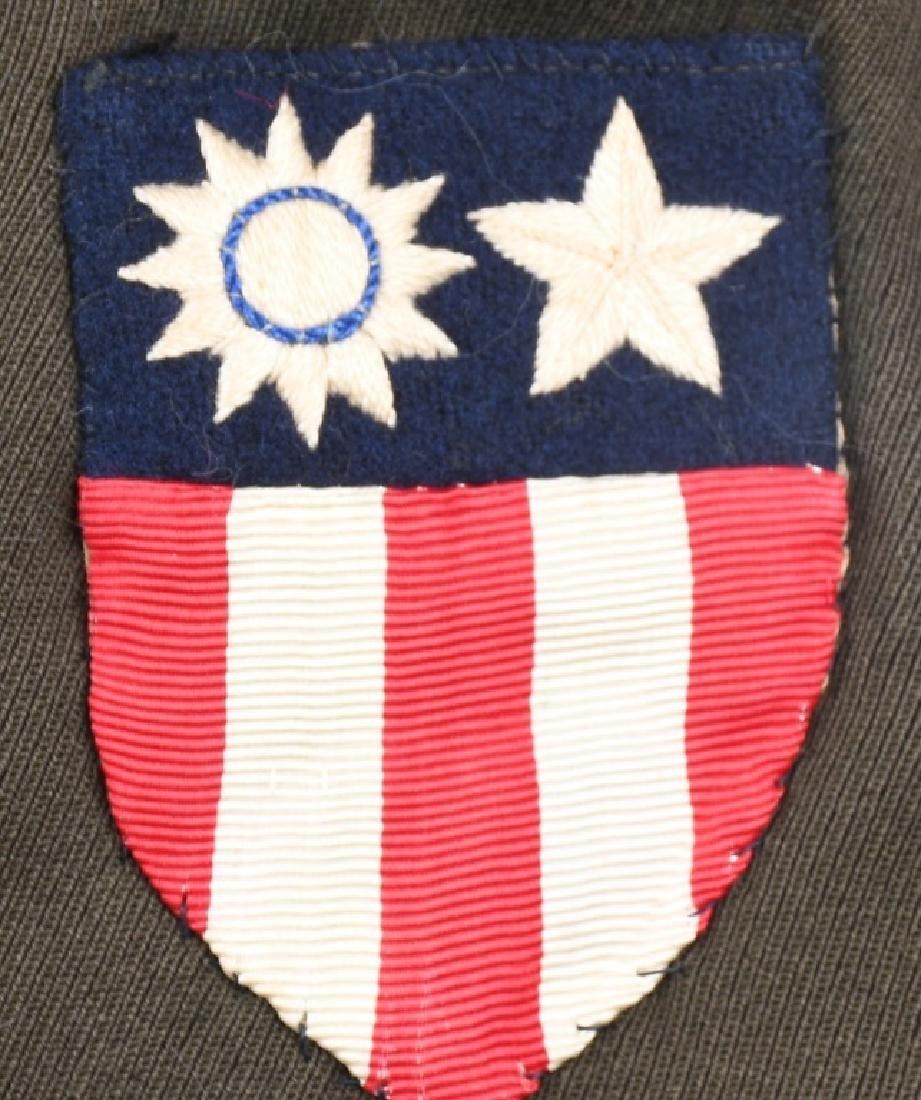 WWII U.S. ARMY CBI SERVICE PILOT UNIFORM - 5