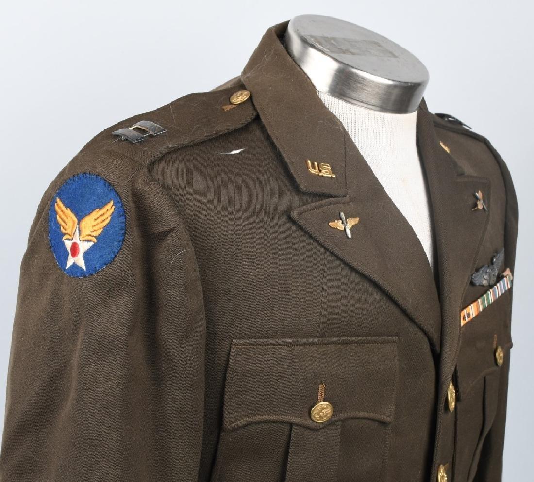 WWII U.S. ARMY CBI SERVICE PILOT UNIFORM - 7