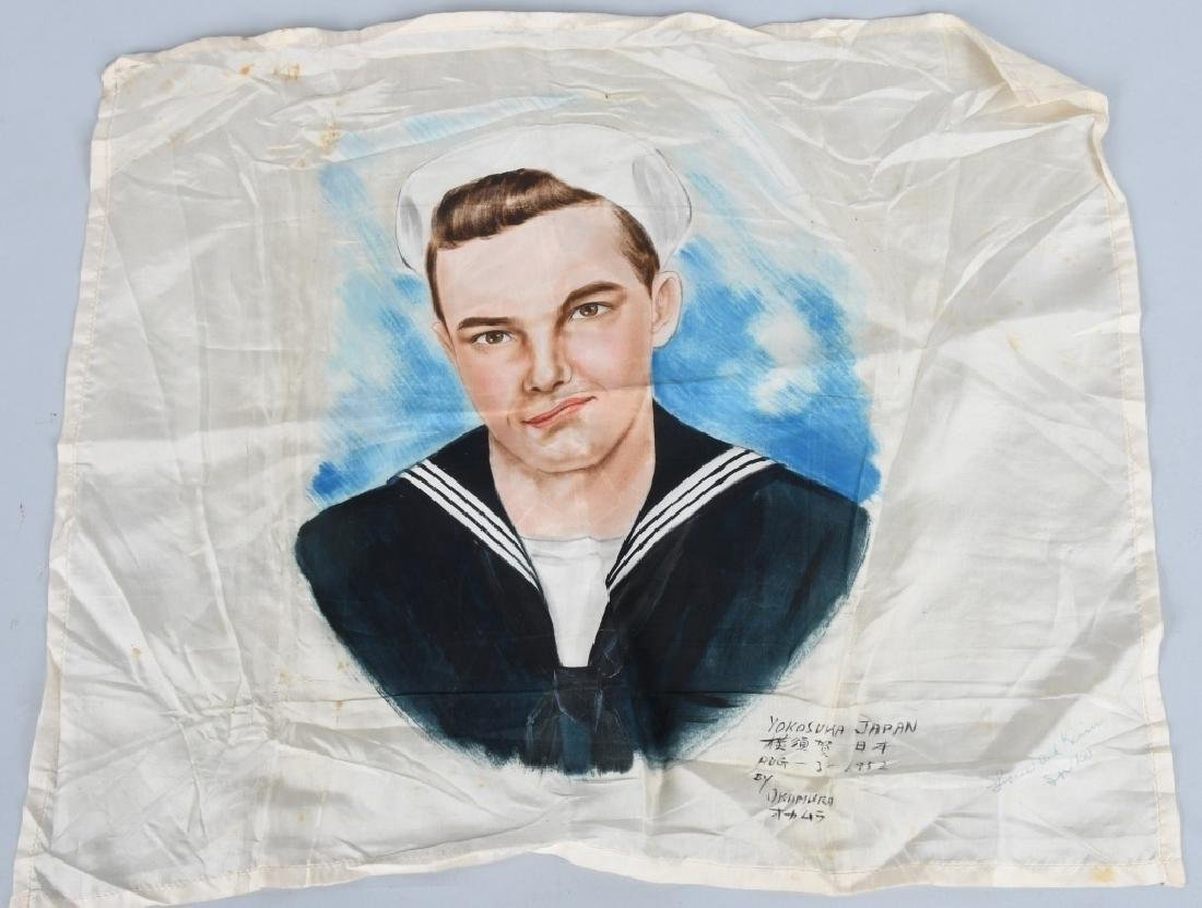 JAPAN SAILOR PAINTING on SILK & MORE - 2