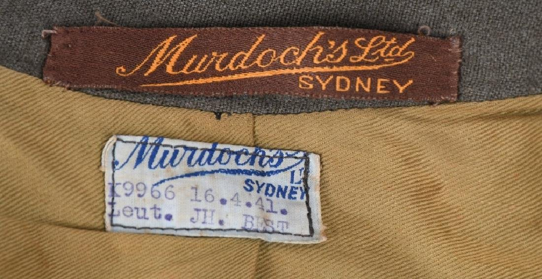 WWII IDENTIFIED AUSTRALIAN OFFICER DRESS UNIFORM - 10