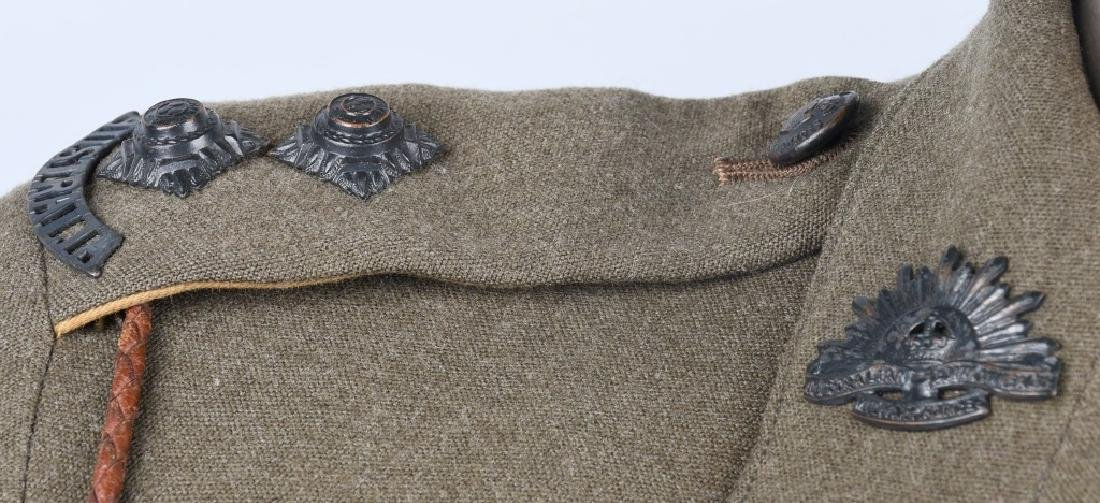 WWII IDENTIFIED AUSTRALIAN OFFICER DRESS UNIFORM - 3